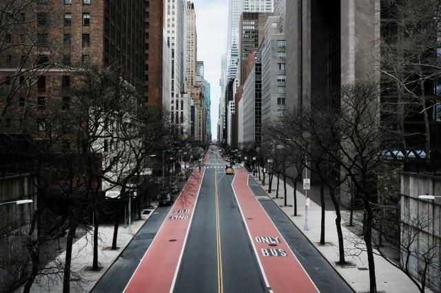 New York deserta